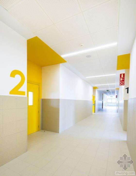 西班牙Mariturri学校内部实景图-西班牙Mariturri学校第19张图片