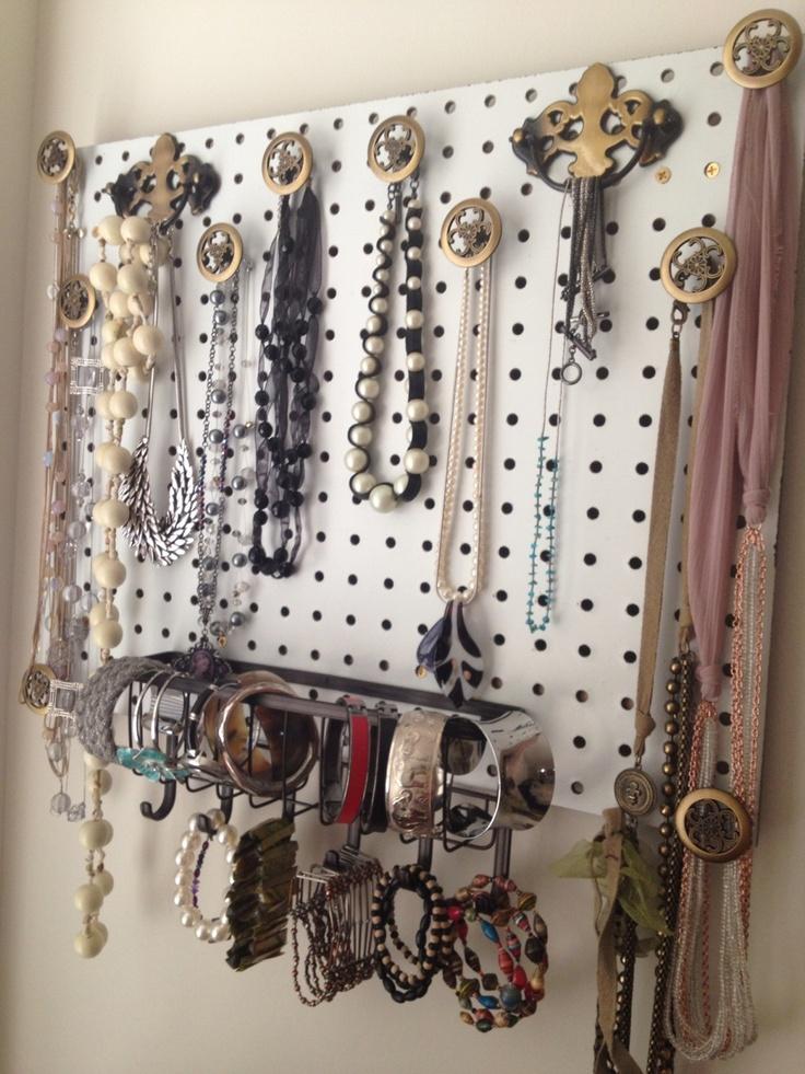 Jewelry organizer- hand made
