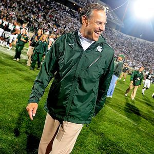 Mark Dantonio...second best football coach of all time.   :-)