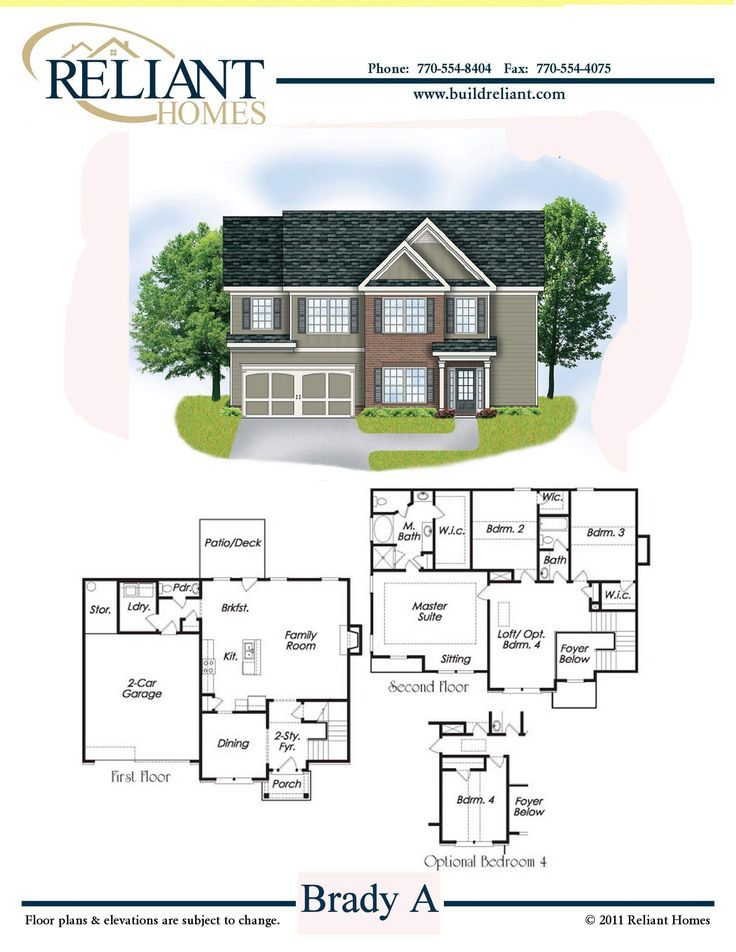 17 best images about reliant homes floorplans on pinterest for Brady house floor plan
