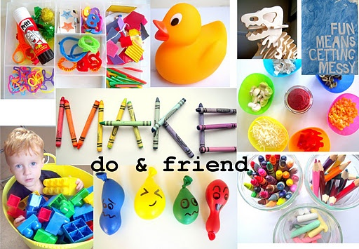 Make, Do & Friend - Make your own fun. We like playdates, dinosaurs and messy play. The fun only stops at naptime!