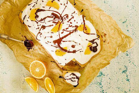 Připravte si koláč plná chutí a vůní, s dokonale nadýchaným krémem. Chuť pomeranče vás dostane!