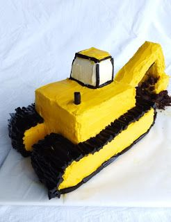 3D торт Самосвал – мастер-класс
