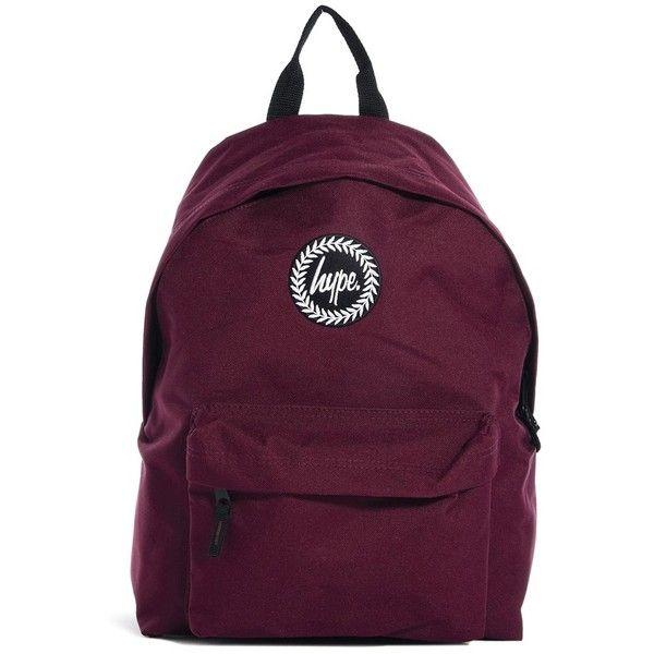 Hype Backpack ($35) ❤ liked on Polyvore featuring bags, backpacks, items, burgundy, purple bag, backpacks bags, knapsack bags, top handle bag and zipper bag