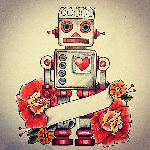 robot tattoo - Google zoeken More