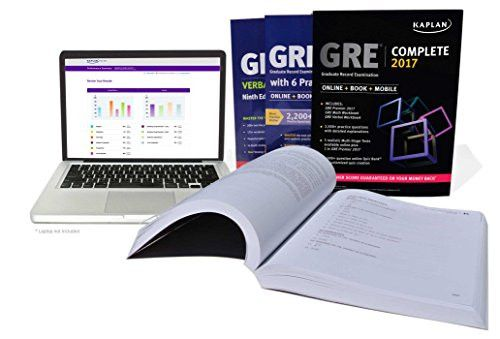 GRE Complete 2017: The Ultimate in Comprehensive Self-Study for GRE (Online + Book + Mobile) (Kaplan Test Prep)