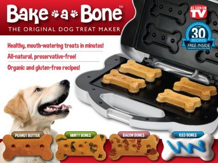 Doggie Treat maker,  Bake a Bone, bake your own dog treats with this fun kit #Dogs, #Pets, #Treats: Pet Treats, Gifts Ideas, Originals Dogs, Treats Maker, Baking A Bon, Gluten Free Recipes, Pet Supplies, Dogs Treats, The Originals