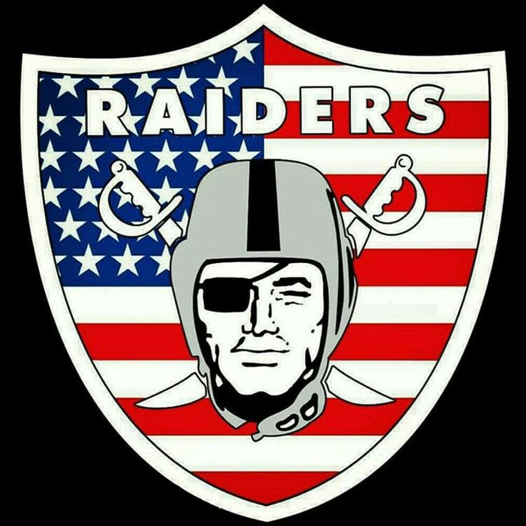 Oakland Raiders Los Angeles Raiders Silver and Black  America