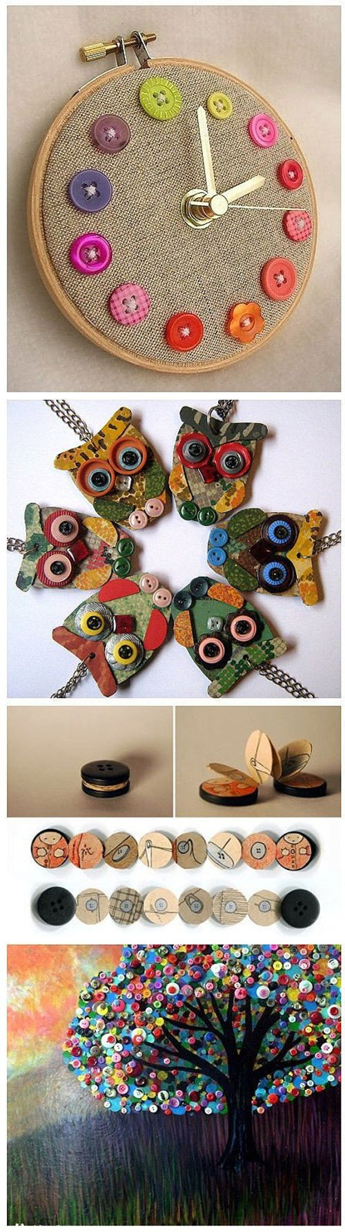 Beautiful Button Crafts