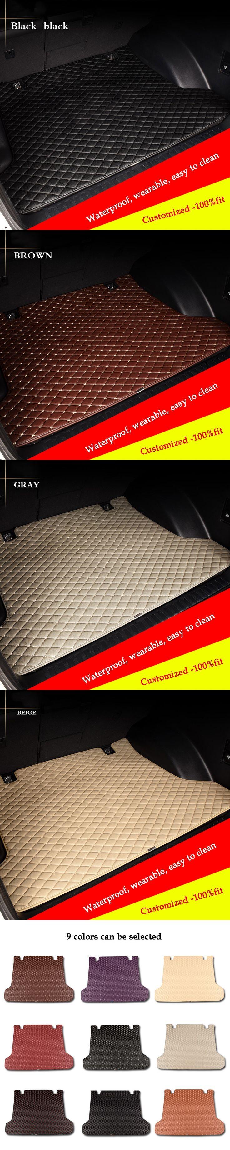 custom car trunk mat for Infiniti EX FX JX Q50 GM QX50 QX56 70L QX QX50 QX60 QX70 QX80 Esq car styling Cargo Liner