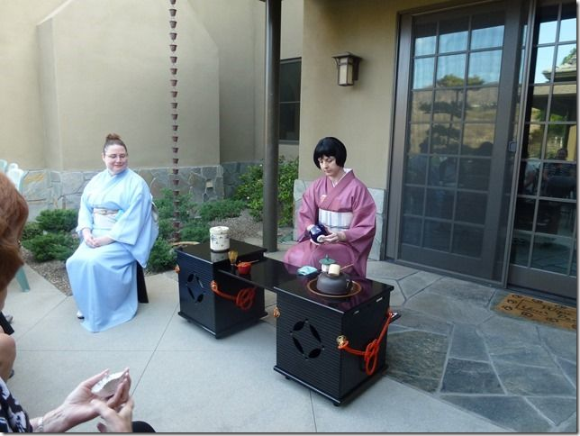 Here I am being a hanto for Britt at our recent moon viewing ceremony.