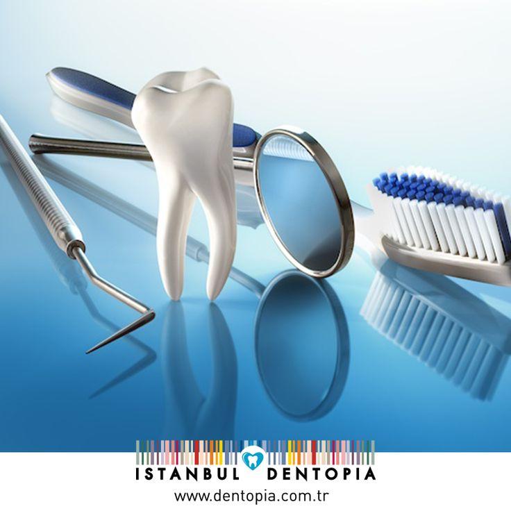 İyi bir ağız ve diş sağlığı kalitesine ulaşabilmek için; yeterli ve dengeli beslenmeli, günde en az 2 kere diş fırçalanmalı ve 6 ayda bir düzenli olarak diş hekimi kontrolüne gidilmelidir. #dişsağlığı www.dentopia.com.tr