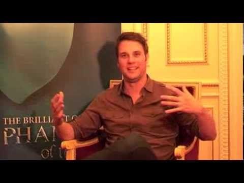 Phantom Of the Opera - Gerónimo Rauch Interview (London) - YouTube
