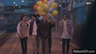Sana and Yousef - SKAM is an animated gif that was created for free on MakeAGif.
