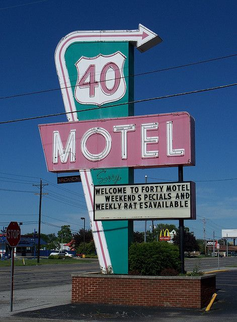 Flyer Goodness: Ohio Vintage Neon Signs