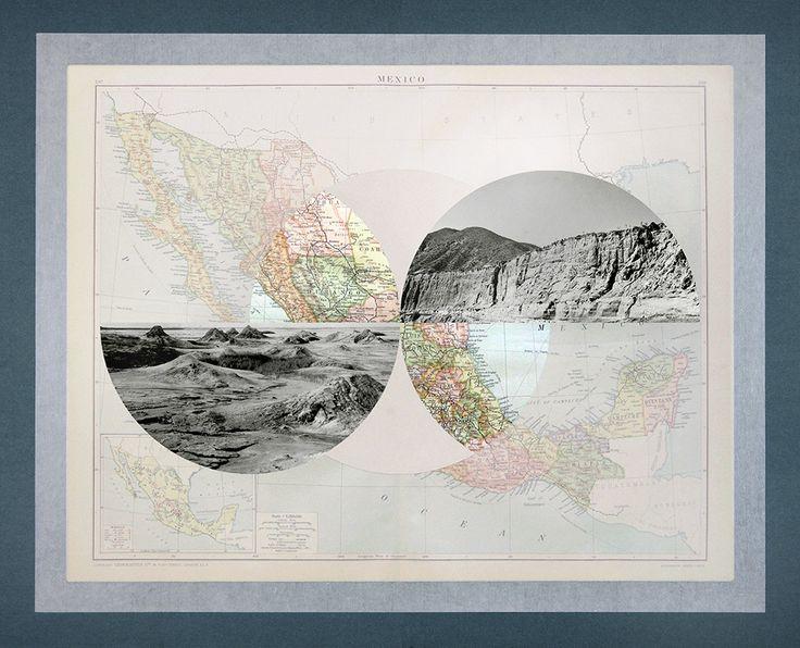 "Elena Damiani - Série ""The Victory Atlas"" / Mexico // Collage 2013"