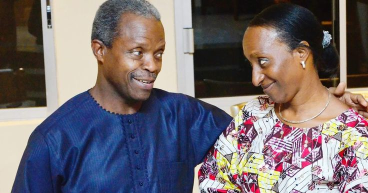 """Vice President Yemi Osinbajo and his wife Dolapo are celebrating their 28th wedding anniversary today November 25th. In his post shared on his Facebook page Osinbajo describe his wife's heart is his home. He wrote  """"When our worlds collided it was just a matter of time.  Our story began today many years ago  The harmony in the symphony  My treasure!  Happy Anniversary Oludolapo  Your heart is my home""""."""