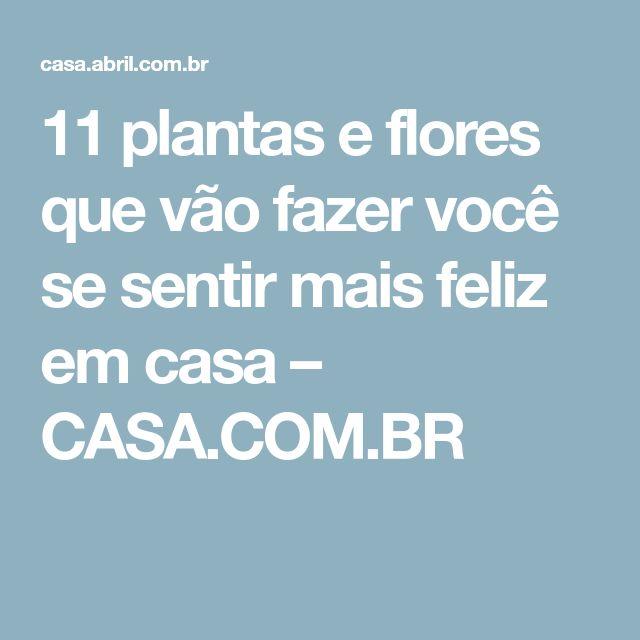 11 plantas e flores que vão fazer você se sentir mais feliz em casa – CASA.COM.BR