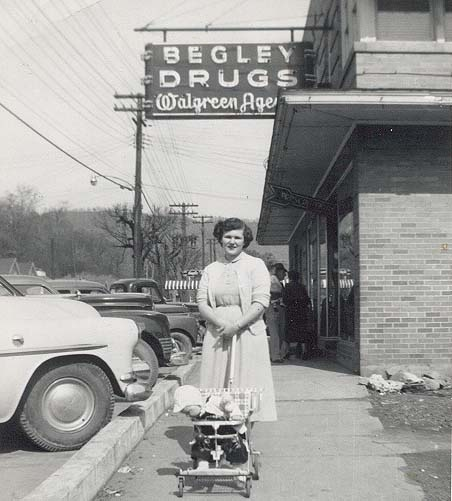 begley drug store  now huff drug  on east main street in