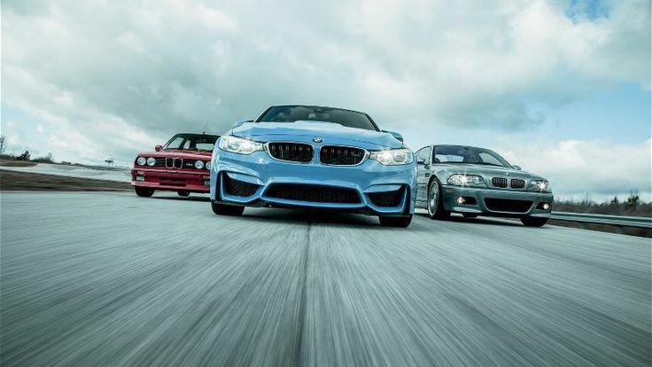 Then vs. Now: 2015 BMW M3 vs 2006 E46 vs 1991 E30
