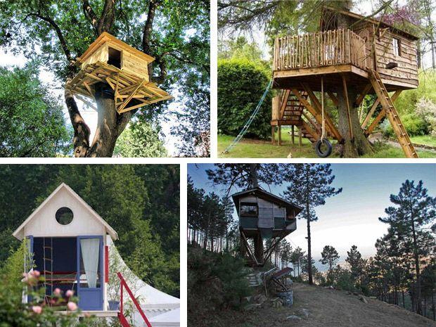 Oltre 1000 idee su case sull 39 albero per bambini su - Progetto casa sull albero per bambini ...