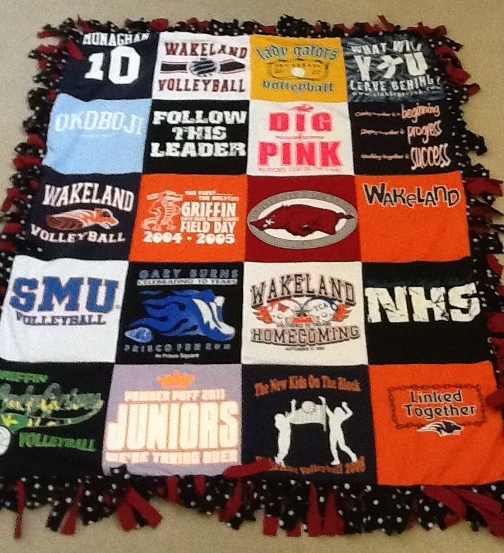 8 Best Images About T Shirt Blankets On Pinterest Make