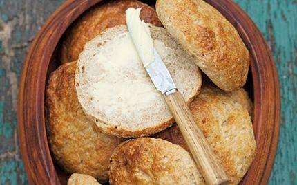 Grove sandwichboller med kartofler