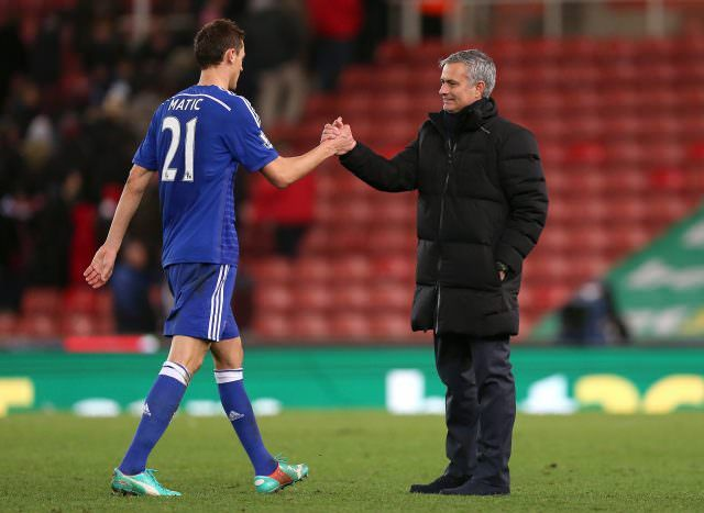 Nemanja Matic joins Manchester United from Chelsea #News #Chelsea #composite #Football #JoseMourinho