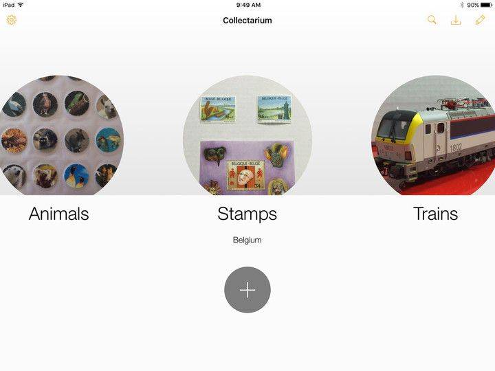 Catalog your collections with Collectarium for iPad | iPad ...