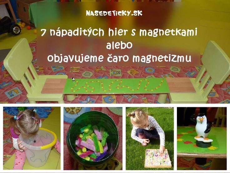 Pripravili sme pre vás 7 zaujímavých hier s magnetkami pre deti.