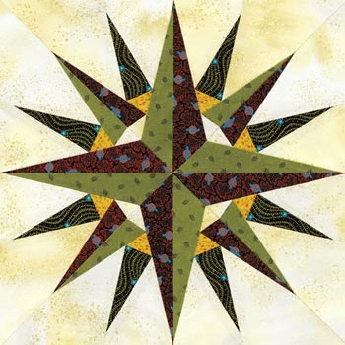 54 Best Mariner S Compass Star Patterns And Quilts Images