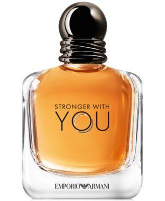 Emporio Armani Stronger With You Eau de Toilette Spray, 3.4 oz. | macys.com