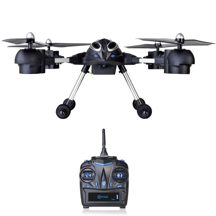 F10 remotecontrolled drone with highdefinition wifi