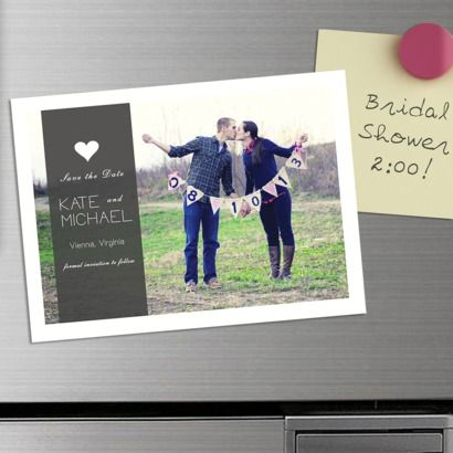 Popular For All Sorts Of Occasions, But Especially For Weddings, These DIY  Save The Date Magnets Are An Absolutely Fabulous Way To Ensure That All  Your ...