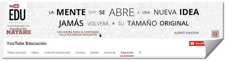 El año pasado, el equipo de Google anunciaba el lanzamiento de YouTube Edu en español, permitiéndonos disfrutar de más de 22 mil videos educativos, con la