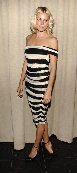 """Sienna Miller in The Cinema Society & Calvin Klein Host A Dinner For """"Factory Girl"""""""