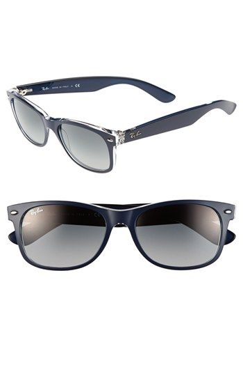 Ray-Ban 'New Large Wayfarer' 55mm Sunglasses available at #Nordstrom