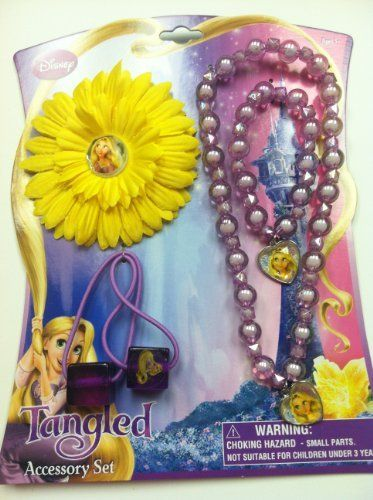 Disney Tangled Accessory Hair and Jewelry Card Set by HER. $3.99. Disney Tangled Hair and Jewelry Card Set