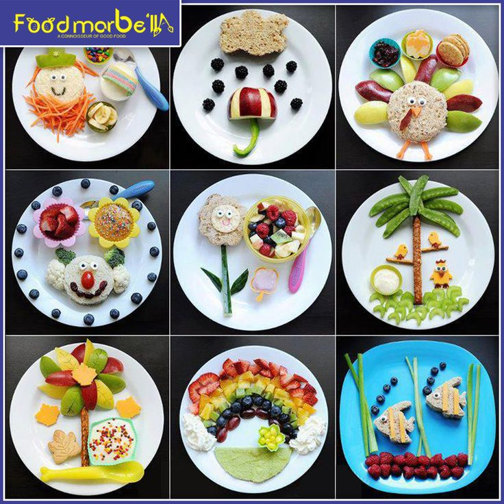 Make eating #fruits and  #Veegetables more fun for your family & get nutritions into their diet. Yum...yum.. #Foodart