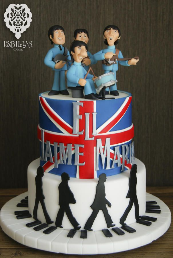 1000 Images About Beatles Themed Cakes On Pinterest