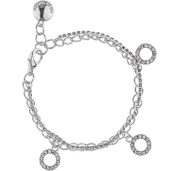 SNÖ Of Sweden - Blizz Charm Bracelet Clear - 610-4800012