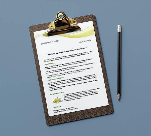 Communique De Presse Pour Natur Move Ncncomm Communique De Presse Communication Et Relations Presse