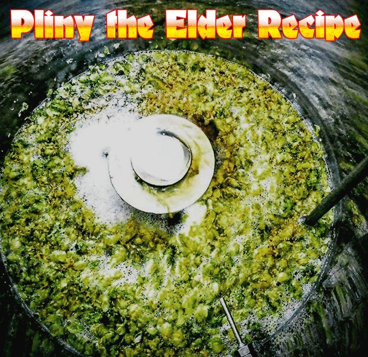 West Coast Brewer Pliny the Elder Homebrewing Recipe