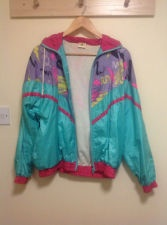 vintage abstract print bomber jacket fresh prince