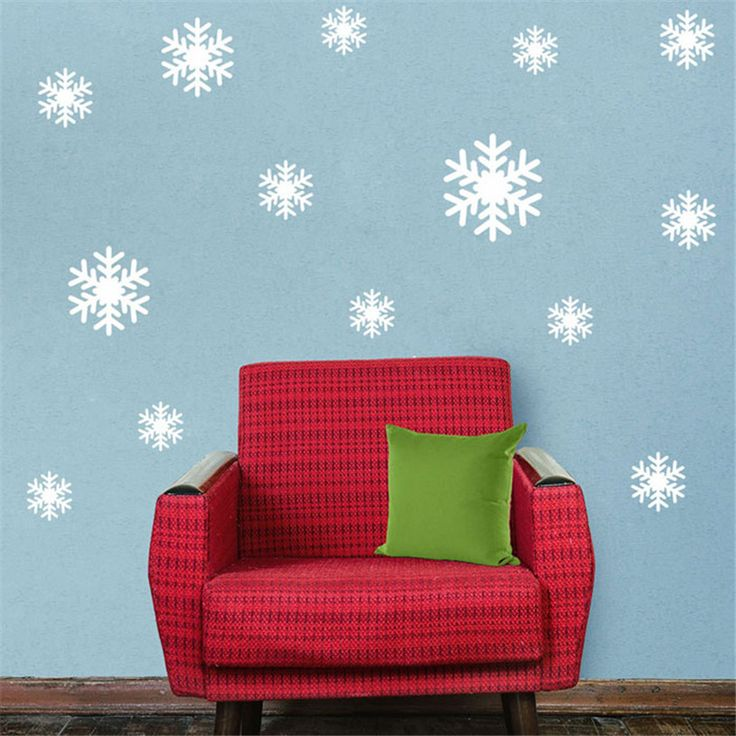 Snow Flakes Wall Sticker //Price: $5.99 & FREE Shipping //     #housedecoration