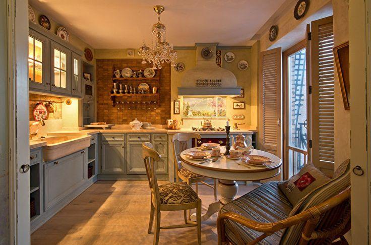 Прованс интерьер кухни
