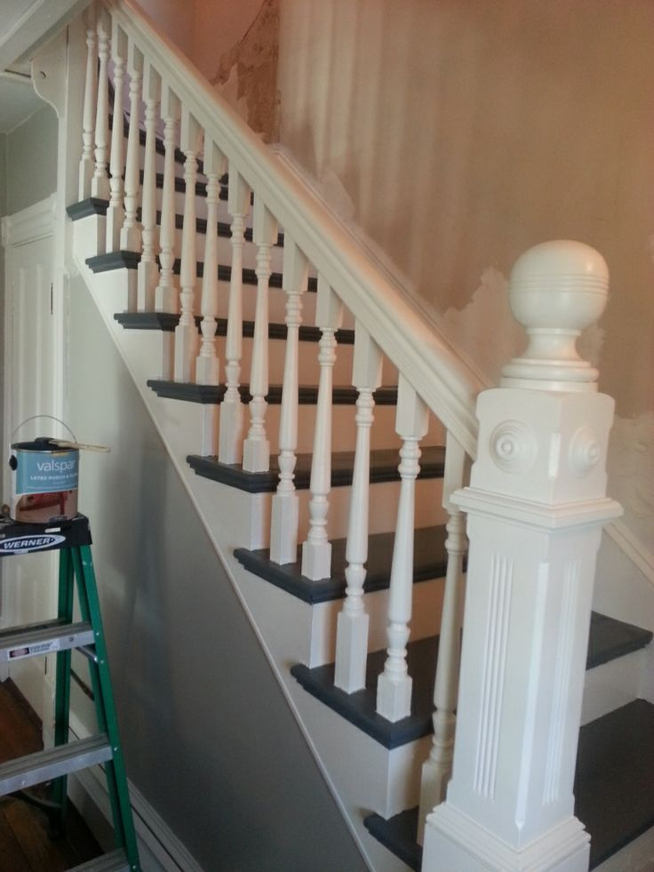 cheap staircase remodel remove carpet and all tacks and repaint valspar woodward bedroom. Black Bedroom Furniture Sets. Home Design Ideas