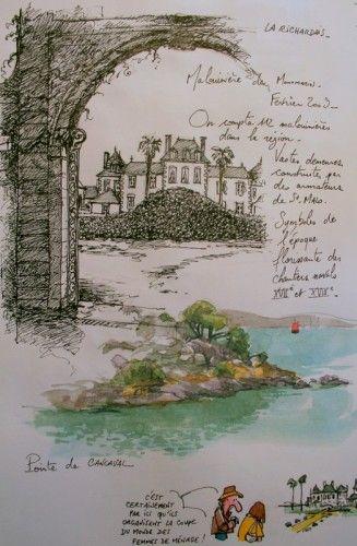 Une Bretagne par les contours /La Richardais. Le blog de yal
