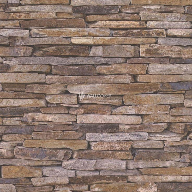 Wood'n Stone Wallpaper 914217 ✔ Color: Brown ✔ Quality from AS-Creation ✔ Fast Shipping ✔ Buy now online on wallcover.com