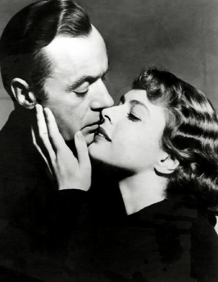 "Charles Boyer & Ingrid Bergman en ""Arco de triunfo"" / ""Arch of Triumph"""